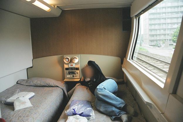 27 2003_6_28 カシオペア(上り)メゾネット1階寝室