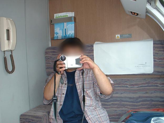 30 2003_6_28 カシオペア(上り)メゾネット2階 広い座席