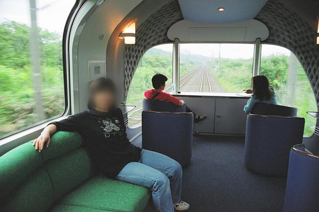 34 2003_6_28 カシオペア(上り)展望車を楽しむ