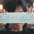 Photos: 35 2003_6_28 カシオペア(上り)展望車にて プラチナ2枚