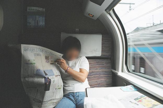 41 2003_6_29 カシオペア(上り)メゾネットスイートの朝