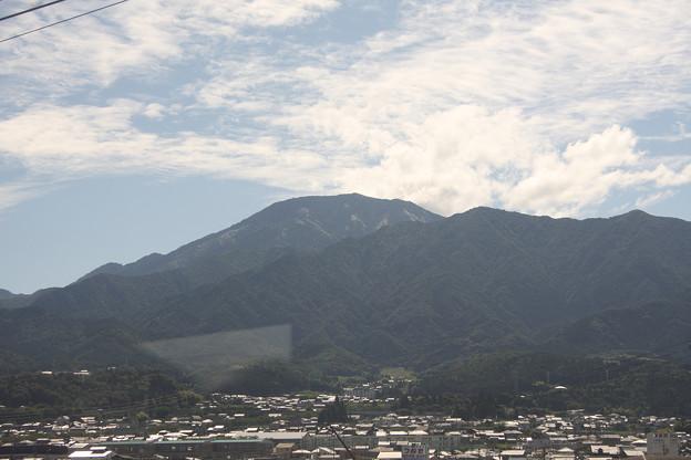 2008年8月〔03〕白馬旅行 車窓 恵那山