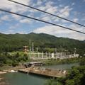 Photos: 2008年8月〔04〕白馬旅行 車窓 関西電力須原発電所