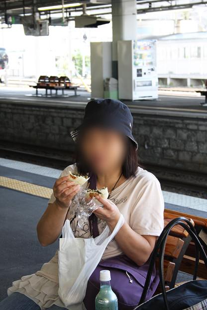 2008年8月〔10〕白馬旅行 蕎麦食った後は「おやき」でしょ!