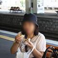 Photos: 2008年8月〔10〕白馬旅行 蕎麦食った後は「おやき」でしょ!
