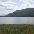 Photos: 2008年8月〔12〕白馬旅行 車窓 木崎湖その2