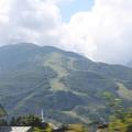 Photos: 2008年8月〔13〕白馬旅行 車窓 八方尾根とジャンプ台