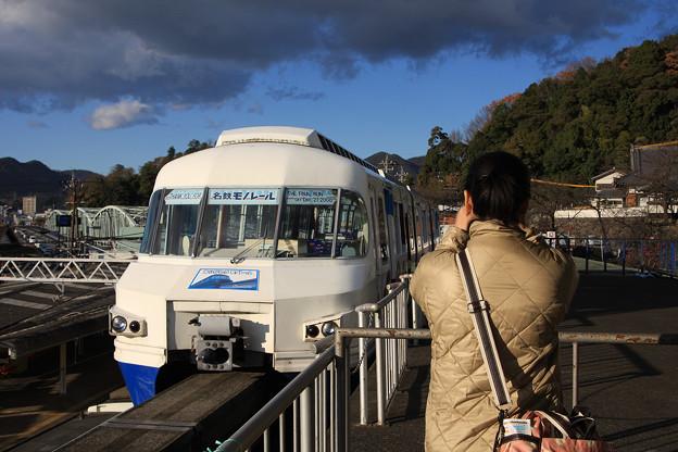 2008年12月 犬山遊園〔01〕モノレールと犬山橋