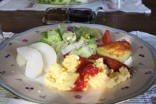 2008年8月〔40〕白馬旅行 朝食も、すべてが満足でした