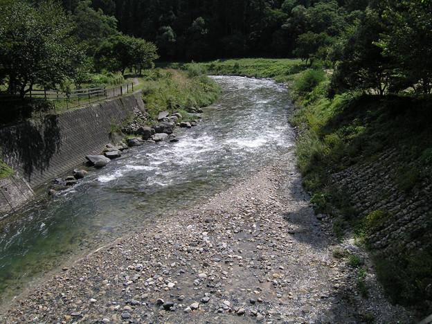 2008年8月〔54-3〕白馬旅行 白線流しの川かな?「早春物語」(妻撮影)