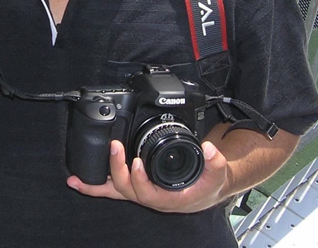 2008年8月〔00〕白馬旅行 キャノンにカニ爪