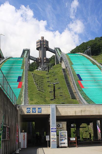 2008年8月〔56〕白馬旅行 スキージャンプ台