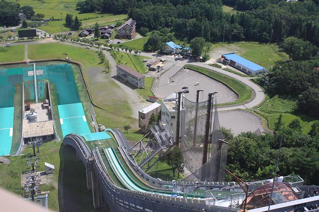 2008年8月〔66〕白馬旅行 ジャンプ 飛ぶ