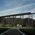 Photos: 1986年8月山陰旅002 餘部鉄橋 特急出雲3号(再スキャン)