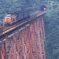 1986年8月山陰旅009 餘部 旧客普通列車(再スキャン)