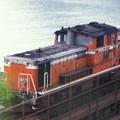 1986年8月山陰旅010 餘部 DD51(再スキャン)
