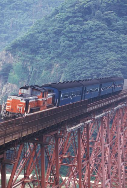 1986年8月山陰旅011 餘部 旧客普通列車(再スキャン)