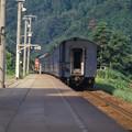 1986年8月山陰旅016 餘部 旧客普通列車(再スキャン)