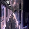 Photos: 1986年8月山陰旅027 ブルトレ出雲1号 オハネ25通路(再スキャン)