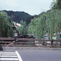 1986年8月山陰旅059 城崎の街(再スキャン)