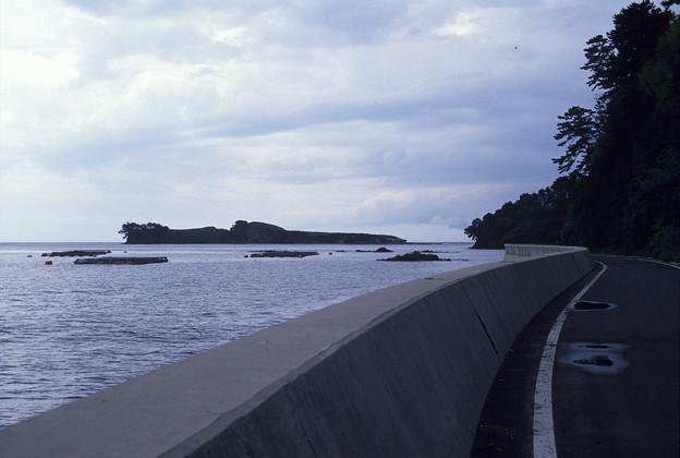 Photos: 1986年8月山陰旅066 隠岐の島 知夫里島(再スキャン)