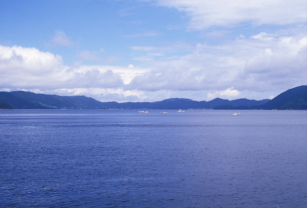 Photos: 1986年8月山陰旅068 隠岐の島 知夫里島(再スキャン)
