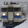 電車の中はきっと暖かいよなぁ~