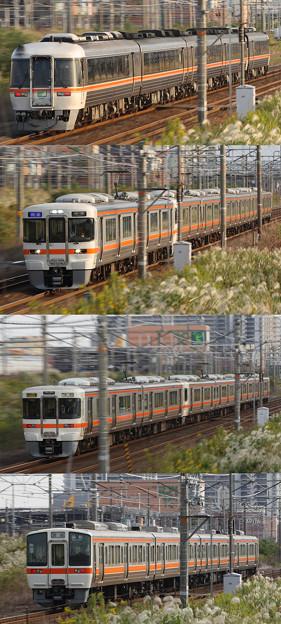 中京地区を走る列車