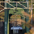 鉄橋の先はトンネル