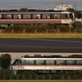 東海道線を走る特急列車