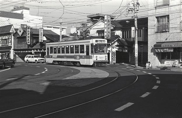 1986年頃 岡電東山線