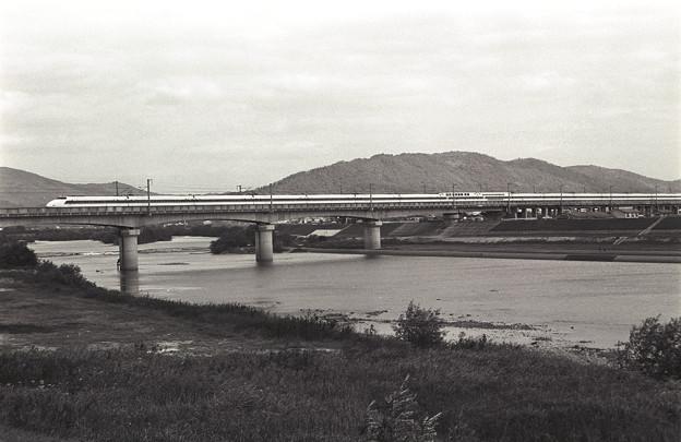 1986年頃 100系新幹線 当初の100系マーク付