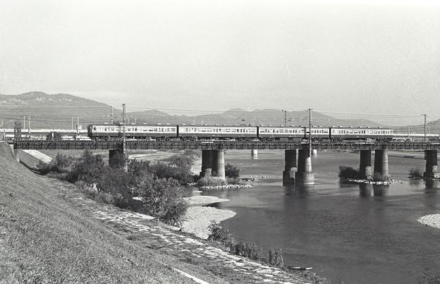 1986年頃 115系非冷房 赤穂線列車かな?