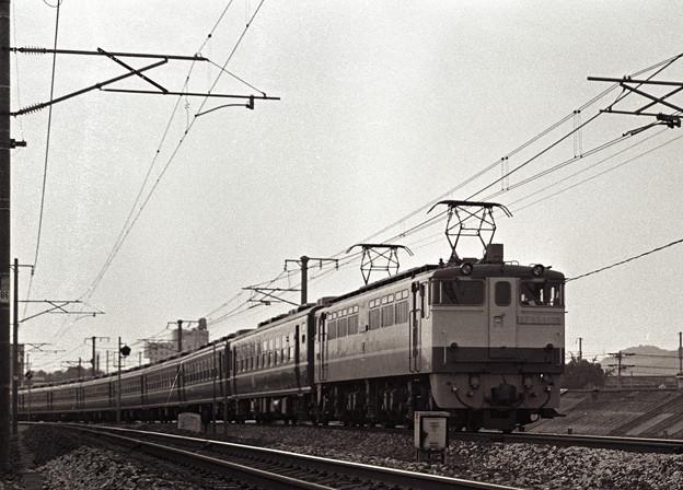 1986年頃 EF65PFの引く12系客車