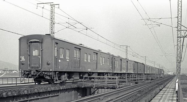 1986年頃 EF62荷物列車マニ