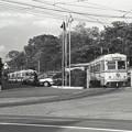 Photos: 1986年頃 岡電 東山車庫を出る旧型市電