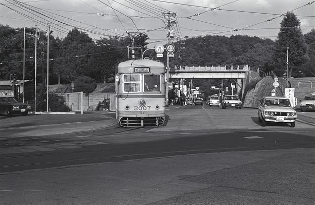 1986年頃 東山車庫を出た旧型市電