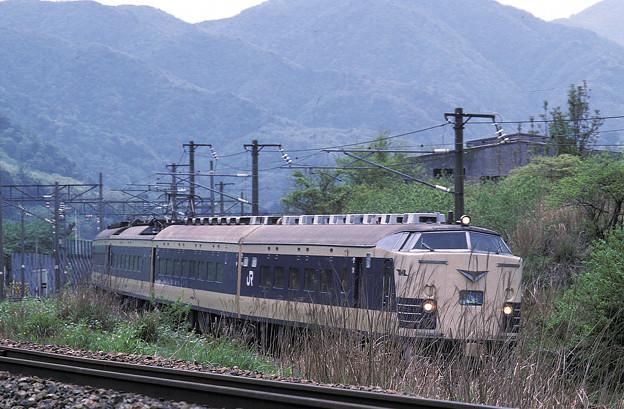 【ポジ再スキャン】583系(クハネ581)特急雷鳥