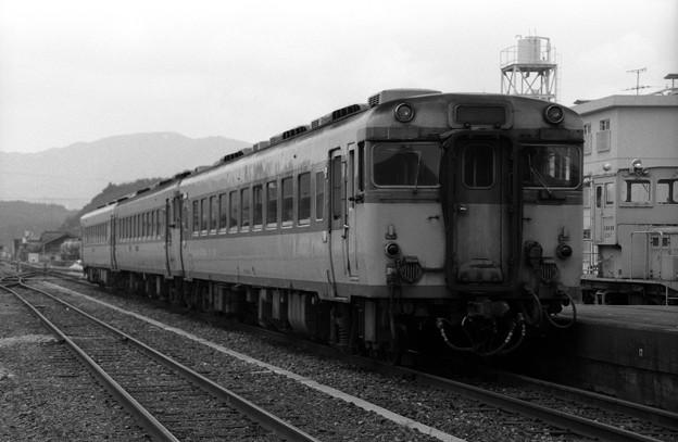 (再スキャン)1986年 急行ちどり 三次駅