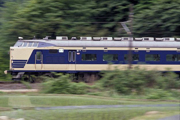 (再スキャン)1992年5月 583系特急雷鳥(クハネ581)横流し