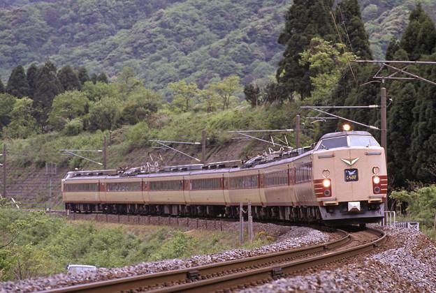 (再スキャン)1992年5月 485系200番台特急しらさぎ7両編成