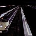 1992年7月(KR)青森駅で発車を待つ寝台特急電車「はくつる」その3