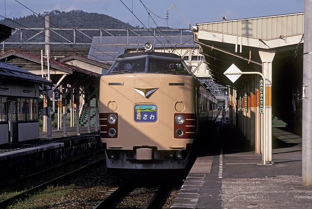 1992年7月(KR)485系特急たざわ