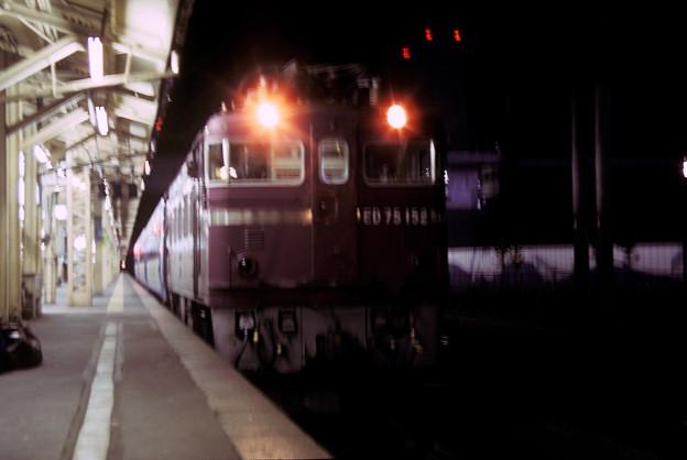 1992年7月(KR)ED75牽引普通列車 青森駅