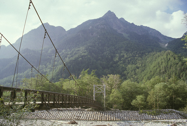 1985年8月(フジクローム100)明神橋