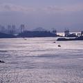 Photos: 1986年頃 建設中の瀬戸大橋(エクタクローム)