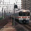 【ネガ】313系通過列車(大高駅)
