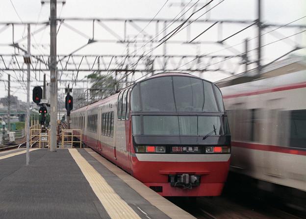 Photos: 【ネガ】快速特急 新鵜沼行き