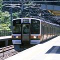 【ポジ】普通電車の到着