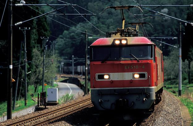 【ポジ】2009年頃 EF510レッドサンダー